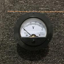 62C2 DC 50V Round Analog Panel Meter Volt Voltage Meter Voltmeter Gauge 0-50V