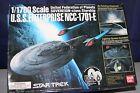 STAR TREK U.S.S. ENTERPRISE NCC-1701-E 1/1700 BANDAI Japan