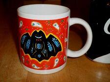 HALLOWEEN BATMAN BAT, Ceramic Coffee Cup / Mug, VINTAGE