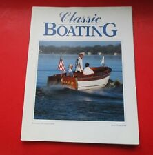 CLASSIC BOATING MAGAZINE NOV/DEC/2000..ISSUE #98...KEBE: A 1929 DEE WITE