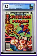 Marvel Team-Up #125 CGC Graded 8.5 Marvel 1983 Newsstand Edition Comic Book.