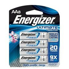 EVEREADY L91BP-8 AA Energizer Ultimate Lithium Batteries (8-PK)