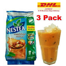 3 x Nestea Nestle Unsweetened Instant Iced Tea Mix Beverages Brew Drink 90g DHL