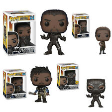 FUNKO POP MARVEL COMICS BLACK PANTHER BOBBLEHEAD VINYL FIGURE Cosplay Toy Gift
