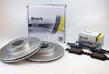 BMW 3 Series E46 OE Quality 286mm Front Breck Brake Pads & Disc Set