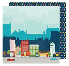Shimelle GO NOW GO - ARRIVAL 12x12 Dbl-Sided (2PC) Scrapbooking Papers FLIGHT