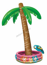 Giant Inflatable Palm Tree Cooler 177cm Tropical Hawaiian Luau Beach Pool Party