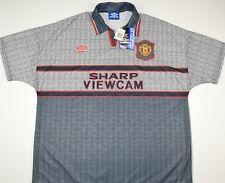 1995-1996 MANCHESTER UNITED UMBRO AWAY FOOTBALL SHIRT (SIZE XXL) - BNWT