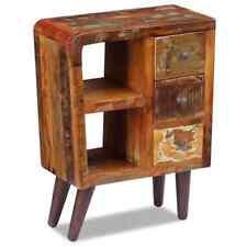 vidaXL Sideboard Cupboard Storage Chest Cabinet Solid Reclaimed Wood 60x30x80 Cm