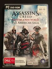 ASSASSIN'S CREED Birth Of The New World The American Saga PC DVD