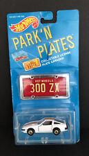 Hot Wheels Park'N Plates White Nissan 300 Zx Nib Good Condition