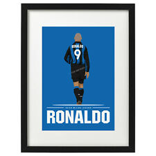 Ronaldo Inter Milan art print / poster