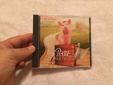 Babe: Pig in City Soundtrack (CD, Nov-1998, Geffen) RARE OOP PETER GABRIEL