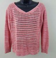 Aeropostale Sweater Womens Size M Long Sleeve Knit Top