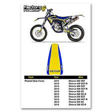 "New Blue /""Honda/"" Ribbed Seat cover CRF150F CRF230F 2003-16"