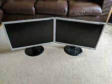 Dual Lg Monitors L226WTQ-SF