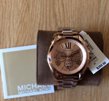 MK5503 Michael Kors Bradshaw  Rosegold-tone Oversized Unisex Chronograph Watch