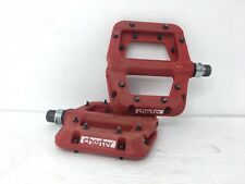Raceface Chester Mountain Bike Flat Platform Pedal Red