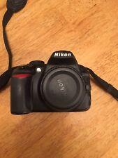 Nikon D D3100 14.2MP Digital SLR Camera - Black Please read all details