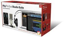 IK Multimedia iRig Pro Duo Studio Suite All-in-one home Studio bundle from japan