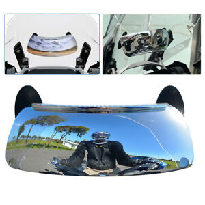 180° Motorcycle Blind Spot Mirror Rear view Mirror HD Convex Mirror Wide Angle
