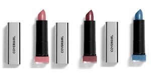 Lot of 2 Covergirl Metallic Lipstick You Choose
