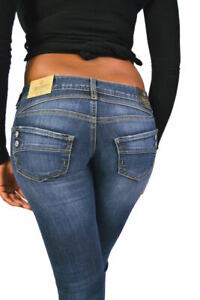 Herrlicher Jeans PIPER SLIM 5650 D9666 *Deep Water* Dunkelblau NEU UVP € 129,95