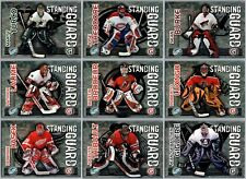 2003-04 PACIFIC SUPREME STANDING GUARD INSERT CARDS - PICK SINGLES - FINISH SET
