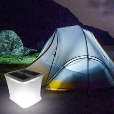 Folding Solar Bright Inflatable Lantern Lamp LED Camping Hike Outdoor Tent Light