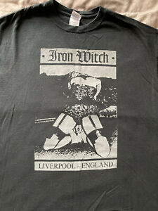 Iron Witch Ts, XL, Ukhc, Leeched, Malevolence, Desolated, Dead Swans