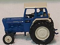 Britains Farms Ford 6600 Vintage Tractor With Driver