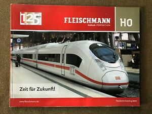 Fleischmann H0 Katalog Neuheiten Katalog 2012, 125 Jahre Fleischmann