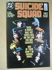 SUICIDE SQUAD, DEBUT 1987 DC SERIES by OSTRANDER,McDonnell. Issue 1 , VFN+