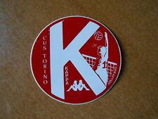 adesivo stickers - CUS TORINO VOLLEY KAPPA  completo di velina
