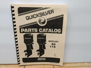 "Mercury ""Quick Silver 90 / 115 hp Outboard Motor Parts Manual -1984"