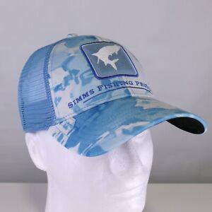 Simms Tarpon Icon Trucker Hat - Color Cloud Camo Blue - ON SALE NOW!