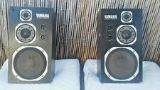 YAMAHA NS-1000M MONITOR STUDIO SPEAKERS MATCHED L R PAIR, SOUNDING GREAT!