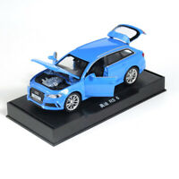 Audi RS6 Quattro 1:32 Model Car DIecast Toy Vehicle Kids Collection Gift Blue