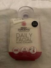 Daily Concepts Your Facial Mini Scrubber Gentle Face Skin Exfoliating Sponge