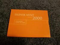 Iceland Mint UNC Uncirculated Set 2000