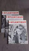 Revista 3 / ATLÁNTICO de La Cie Transatlantique En El Paquebot 1964