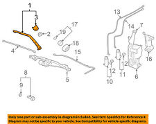 GM OEM Windshiled Wiper-Front Arm 22917502