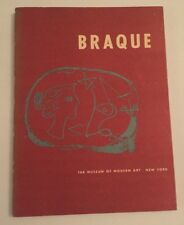 GEORGES BRAQUE: The Museum of Modern Art, New York 1949, Softcover