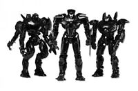 SDCC 2014 Exclusive Neca Pacific Rim End Credits Jaeger 3 Figure Box Set 7""