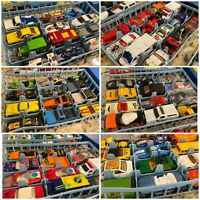 Matchbox Lesley 1970 Collectors Case PLUS 72 CARS SUPERFAST & Early Hot Wheels!