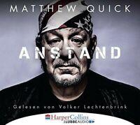 VOLKER LECHTENBRINK - MATTHEW QUICK: ANSTAND   CD NEW