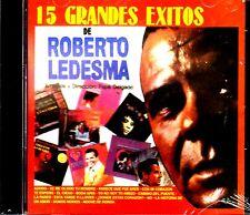 15 Grandes Exitos by Roberto Ledesma (CD, Oct-1999, Disco Hit) CD