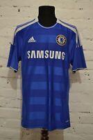 CHELSEA LONDON 2011/2012 HOME FOOTBALL SHIRT SOCCER JERSEY TRIKOT MENS L V13927
