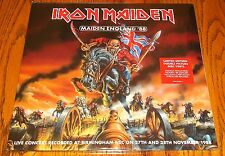 IRON MAIDEN MAIDEN ENGLAND 88 DOUBLE PICTURE DISC VINYL LPs STILL SEALED! IMPORT