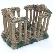 ACQUARIO Colonna Romana Antica Grecia ROVINE ORNAMENTO Acquario Decorazione # 1844e1